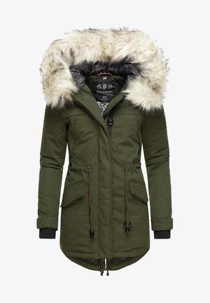 WINTERMANTEL LADY LIKE - Winter coat - green