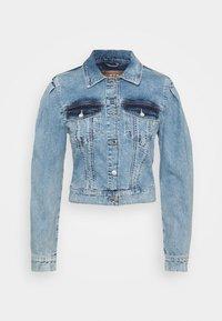 Guess - 80S TEDDY JACKET - Denim jacket - shalla - 0
