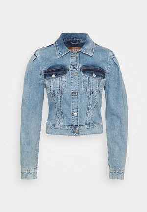 80S TEDDY JACKET - Giacca di jeans - shalla