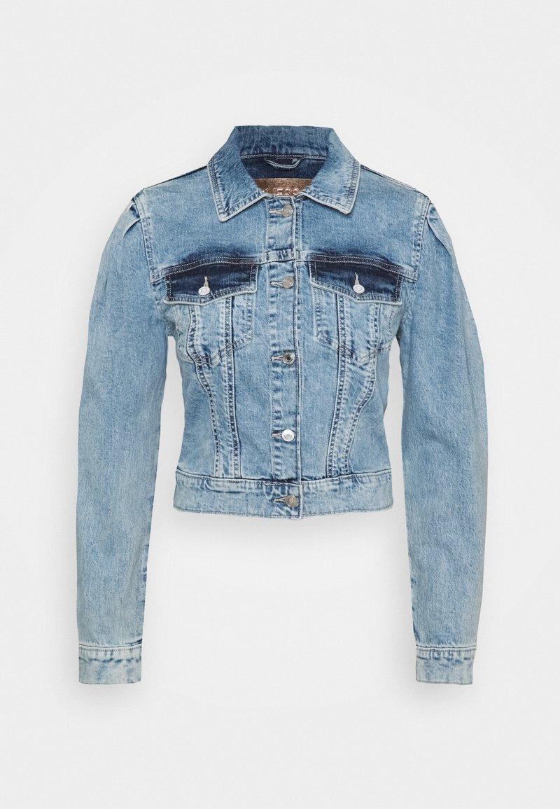Guess - 80S TEDDY JACKET - Denim jacket - shalla