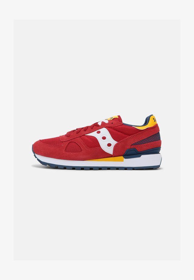 SHADOW ORIGINAL UNISEX - Sneakers basse - red/yellow/blue