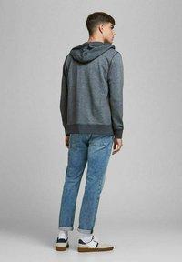 Jack & Jones - Sweater met rits - navy blazer - 2