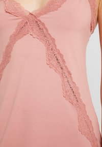 Cotton On Body - CROSS SLINKY NIGHTIE - Nightie - rose tan - 5
