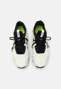 adidas Performance - TERREX AGRAVIC FLOW RUNNING - Löparskor terräng - footwear white/core black/solar yellow - 3
