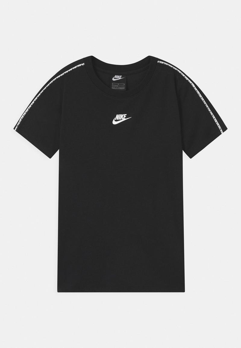 Nike Sportswear - REPEAT - Triko spotiskem - black/white