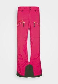 WOMENS BACKSIDE PANTS - Zimní kalhoty - pink