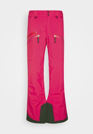 WOMENS BACKSIDE PANTS - Snow pants - pink