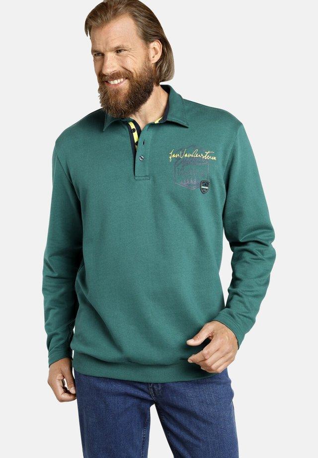 HOLMGER - Sweatshirt - petrol