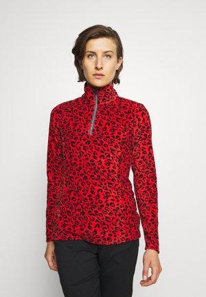 MISMA WOMEN - Fleece jumper - cheeky red