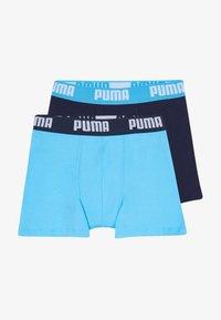 Puma - BOYS BASIC 2 PACK - Pants - bright blue - 3
