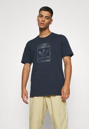 TEE - Print T-shirt - night navy