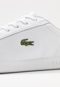 Lacoste - GRADUATE - Sneakersy niskie - white/black - 5