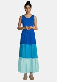 LANDS' END - Maxi dress - classic cobalt colorblock - 0