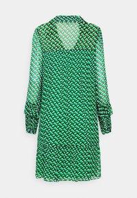Diane von Furstenberg - HEIDI DRESS - Vapaa-ajan mekko - medium green - 6