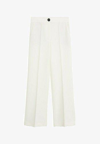 SIMON-I - Spodnie materiałowe - ecru