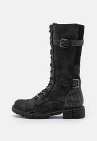 Mustang - Lace-up boots - dunkelgrau - 1