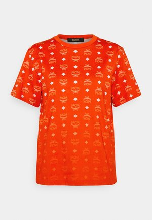 COLLECTION SHORT SLEEVES TEE - T-shirts med print - red
