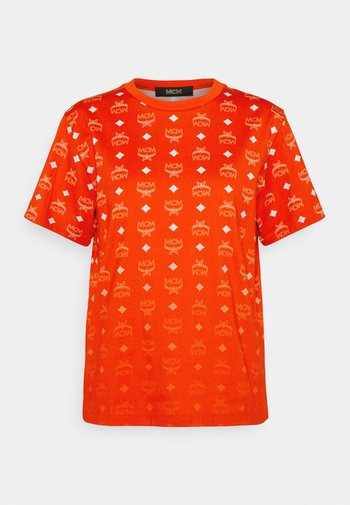 COLLECTION SHORT SLEEVES TEE - Print T-shirt - red