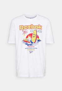 SOUVENIR TEE - Print T-shirt - white