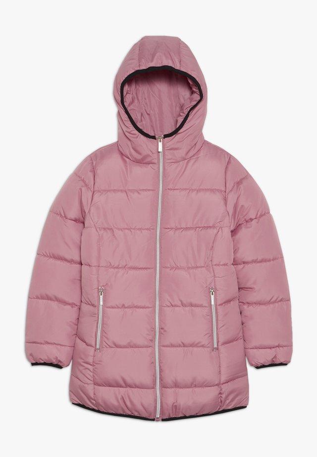 LONG  - Winter coat - mauve