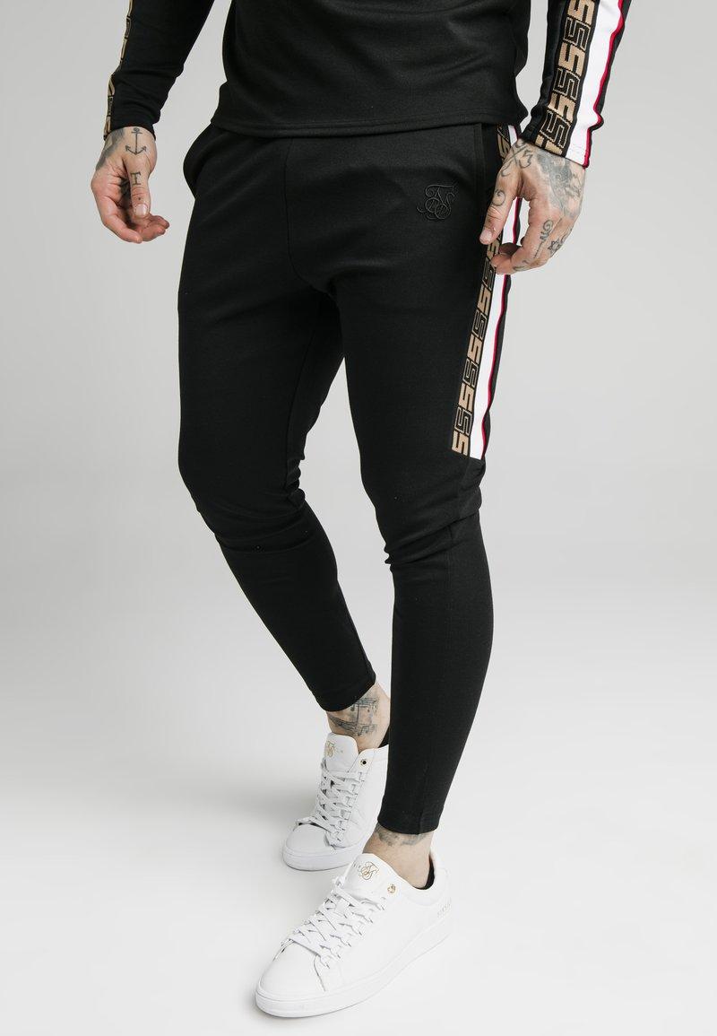SIKSILK - RETRO ATHLETE PANT - Trainingsbroek - black
