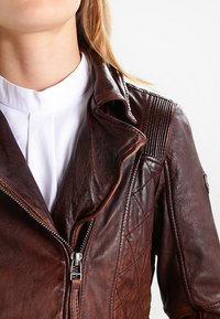 Gipsy - ADVANCE LATEOV - Lederjacke - vintage brown - 3