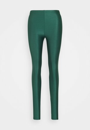 ONLSAINT SHINY - Leggings - smoke pine