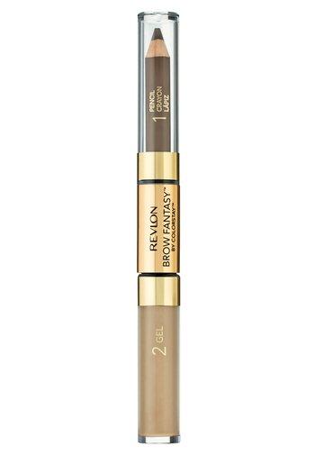 BROW FANTASY PENCIL AND GEL - Eyebrow pencil - N°104 dark blonde