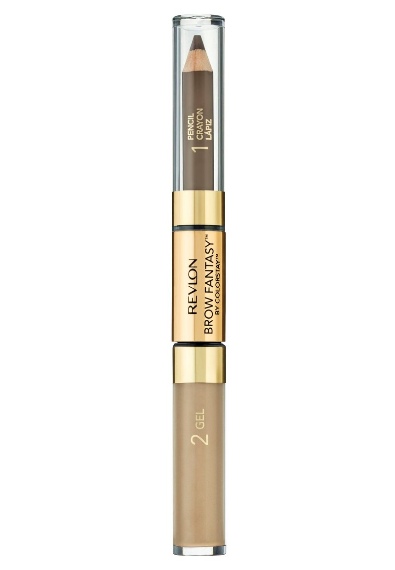 Revlon - BROW FANTASY PENCIL AND GEL - Eyebrow pencil - N°104 dark blonde