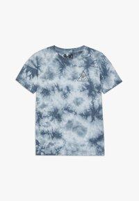 Cotton On - THE UPSIDE SHORT SLEEVE TEE - Print T-shirt - white/blue - 0