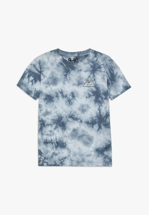 THE UPSIDE SHORT SLEEVE TEE - T-shirt imprimé - white/blue