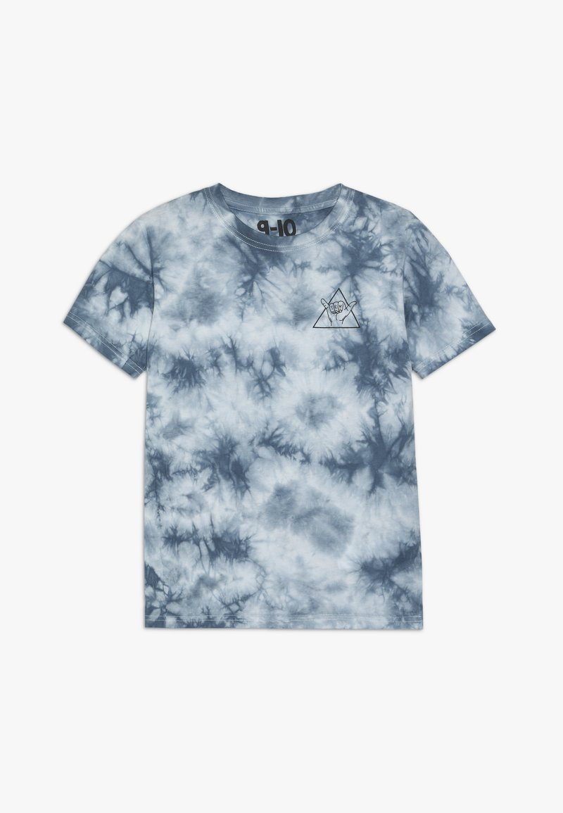 Cotton On - THE UPSIDE SHORT SLEEVE TEE - Print T-shirt - white/blue