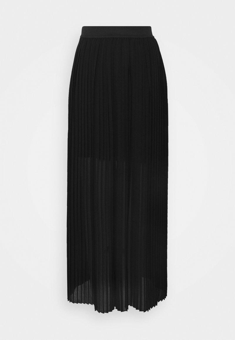 NAF NAF - LAPLISSETTE - Jupe plissée - noir