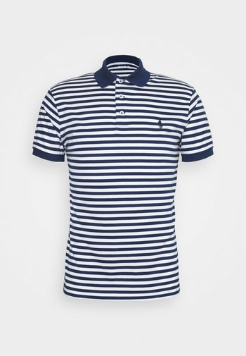 INTERLOCK - Polo shirt - freshwater/white