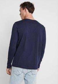 GANT - THE ORIGINAL - T-shirt à manches longues - evening blue - 2