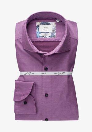 Zakelijk overhemd - aubergine
