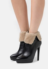 Even&Odd - LEATHER - Winter boots - black - 0