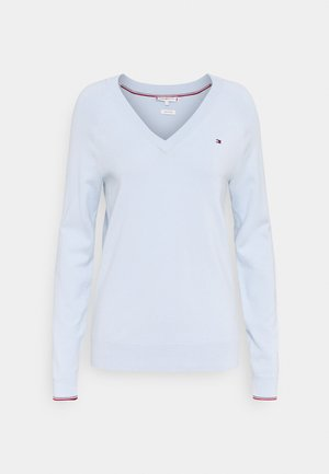 VNECK - Jumper - breezy blue
