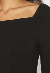 Forever New - SALLY SQUARE NECK - Long sleeved top - black - 5