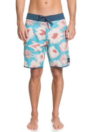 HIGHLINE WARPED  - Swimming shorts - pacific blue