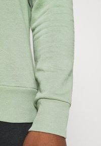 Brave Soul - Collegepaita - mint green/light grey marl - 5