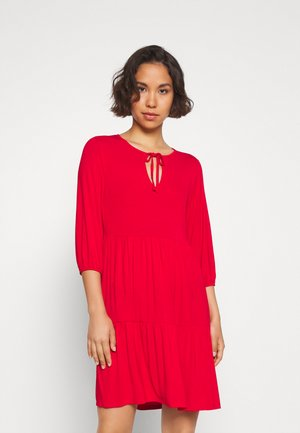 Žerzejové šaty - goji berry