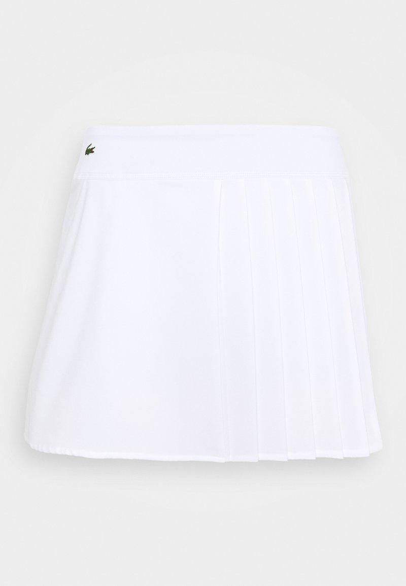 Lacoste Sport - Sportovní sukně - white
