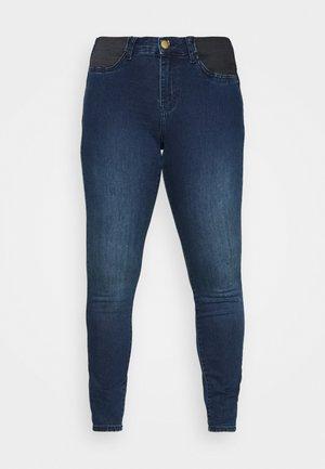 JANNA AMY - Jeans Skinny Fit - dark blue denim