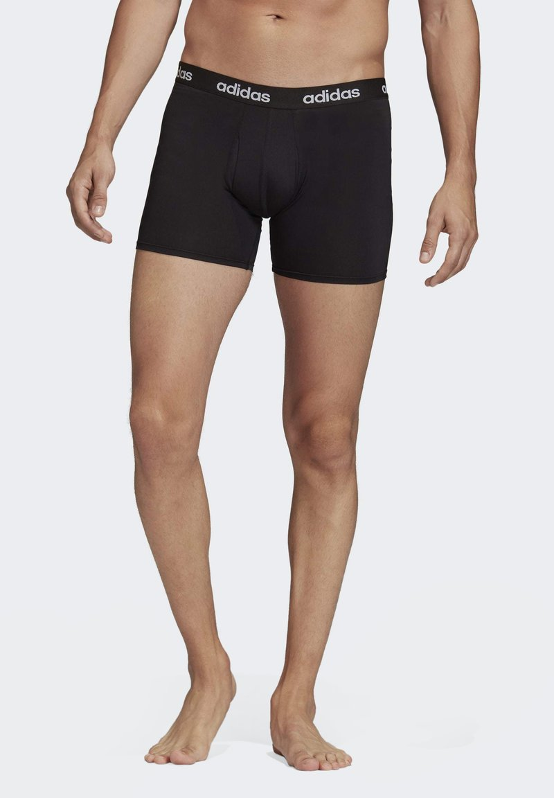 adidas Performance - CLIMACOOL BRIEFS 3 PAIRS - Pants - black