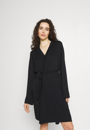 SLEEP RECOVERY MATERNITY GOWN - Kylpytakki - black