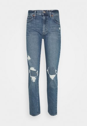 GIRLFRIEND MED TULIPAN DEST - Jeans Relaxed Fit - medium wash