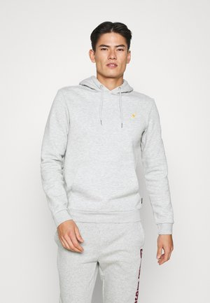 Hoodie - mottled light grey