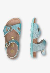 Genuins - KENIA GLITTER - Sandals - hellblau - 1