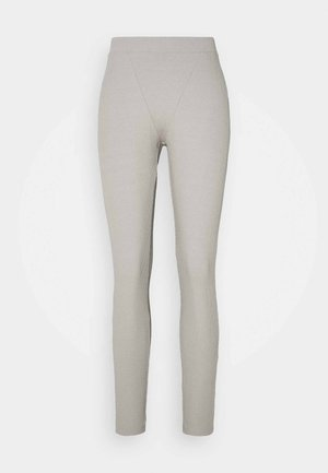 BOXER DETAIL - Leggings - Trousers - grey